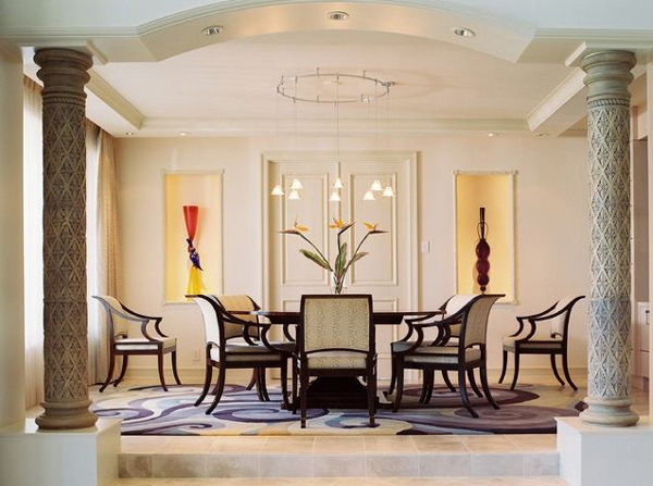 15 cool dining room ideas home design lover for Cool dining rooms