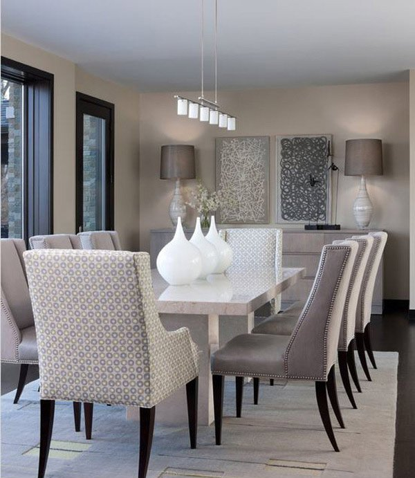 Amazing Glamorous Dining Rooms. Glamorous Dining Rooms Modern Contemporary Home  Design Lover