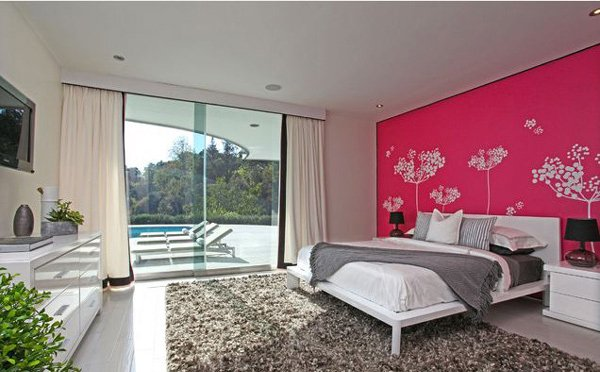 20 bedroom color ideas home design lover - Pinke wand ideen ...
