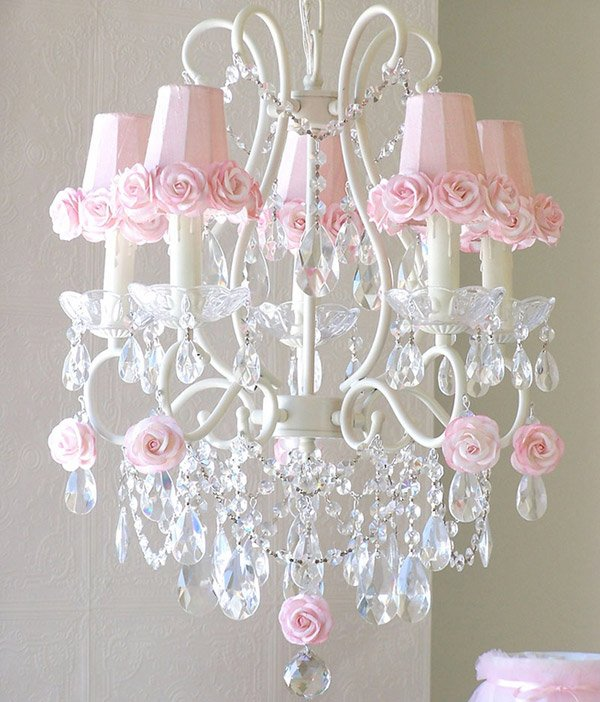 15 alluring pink chandeliers for a girl 39 s bedroom home