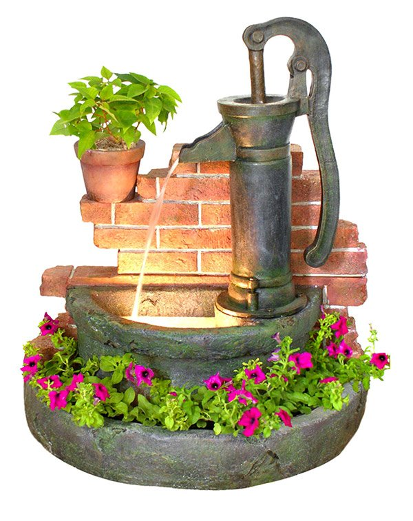 The Sheffield Water Feature Planter