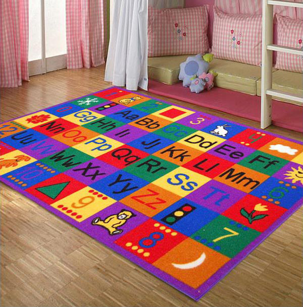15 Kids Area Rugs For More Enjoyable Playtime Home