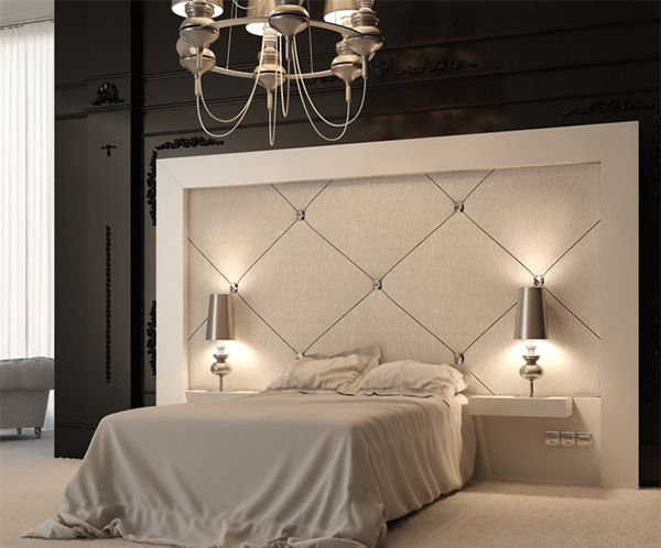 Custom Headboards Inspiration With Bedroom with Upholstered Headboard Designs Picture