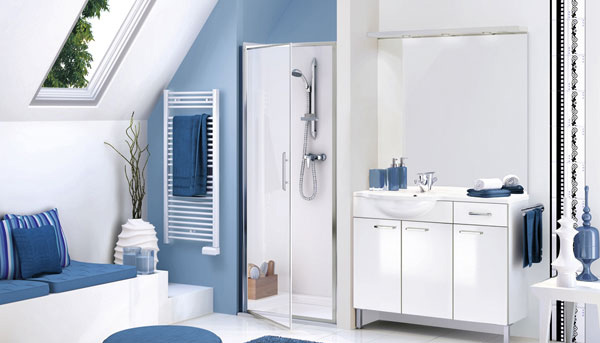blue wash room