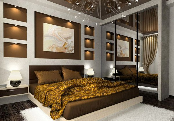 interesting and cool bedroom ideas  home design lover, Bedroom decor