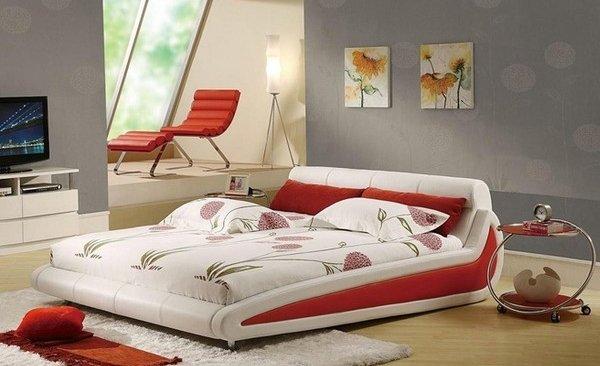 stylish bed