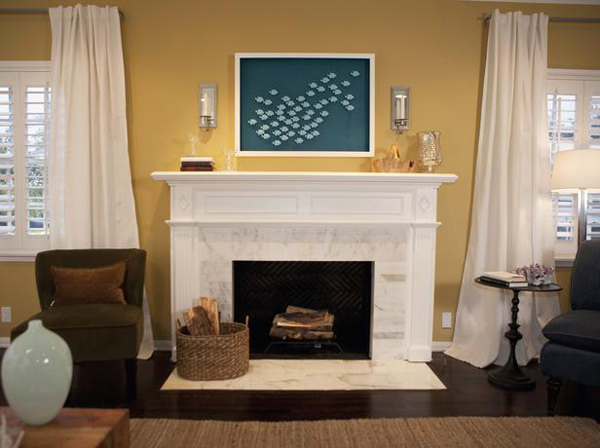 15 Lovely And Stylish Living Room Fireplaces Home Design