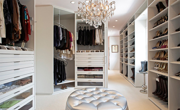 The Classic White Closet