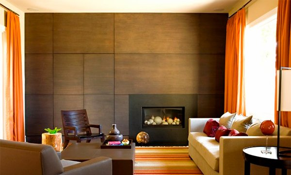 Wooden Panel Walls In 15 Living Room Designs Home Design