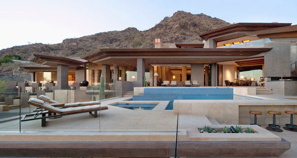The Luxurious Home In Paradise Valley In Arizona USA Home