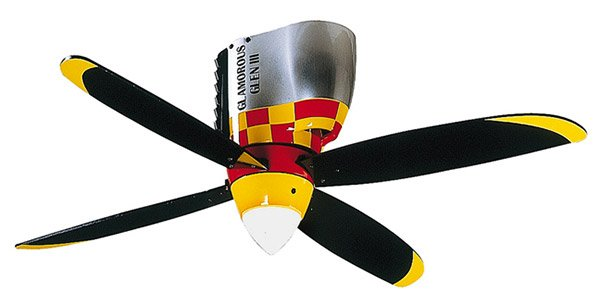 Airplane Style Ceiling Fans : Children s ceiling fans with playful designs home