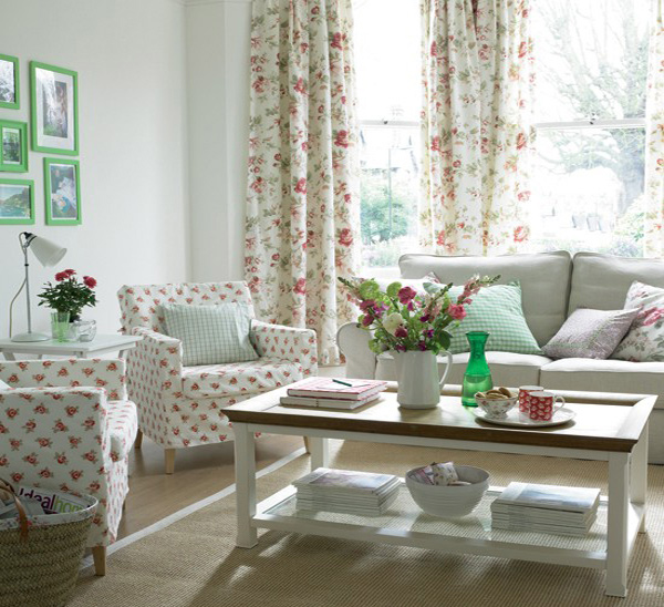 A Collection Of 16 Charming Living Room Curtains Home Design Lover