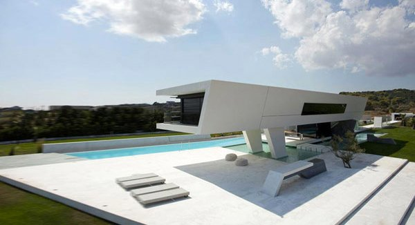 Futuristic House home design: 15 unbelievably amazing futuristic house designs