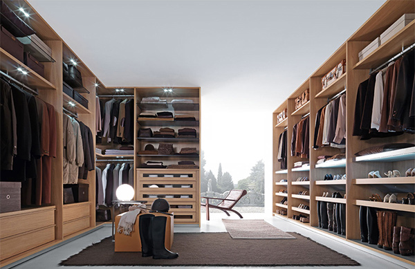 Walk-in Closet System 00784