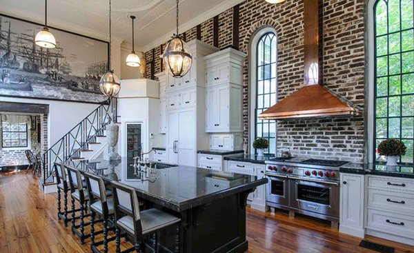 High Ceiling Kitchen Design Ideas ~ Interiors with high ceilings home design lover