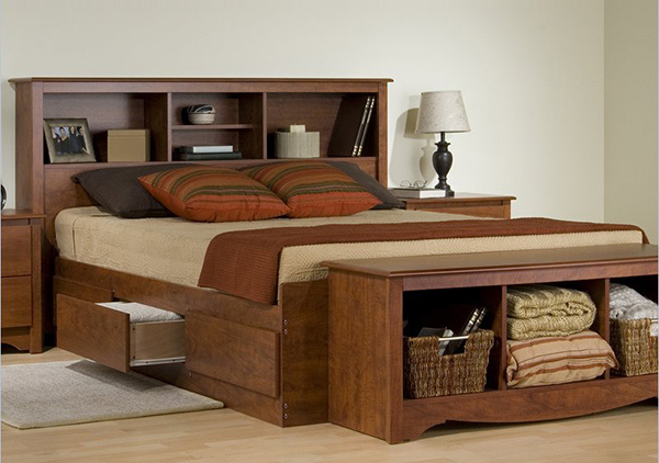 Combine Beauty and Function in 15 Storage Platform Beds ...