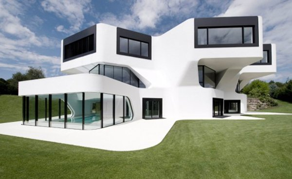 15 unbelievably amazing futuristic house designs home for Futuristic home plans
