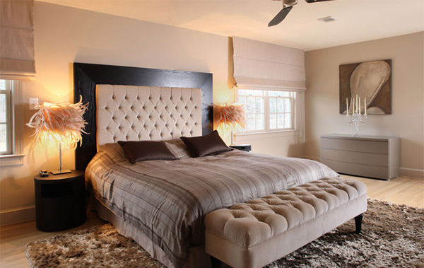 Customize your bedroom with 15 upholstered headboard for Bedroom headboard ideas