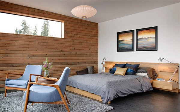 Portage Bay Wood Panel
