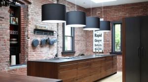brick kitchens
