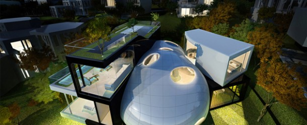 15 Unbelievably Amazing Futuristic House Designs