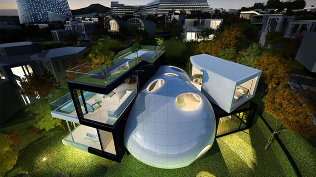 fascination in futuristic homes furniture