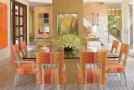 15 Catchy Orange Dining Room Designs