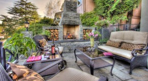 15 Outdoor Stone Fireplaces to Love