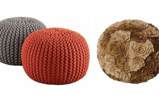 15 Cute Round Pouf Seats