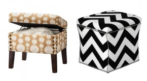 Store Hidden Treasures in 20 Cube Storage Ottomans