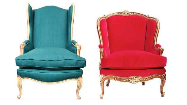 15 antique wingback chairs in plain colors home design lover for All types of chairs