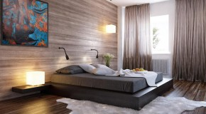 20 Bedrooms with Wooden Panel Walls