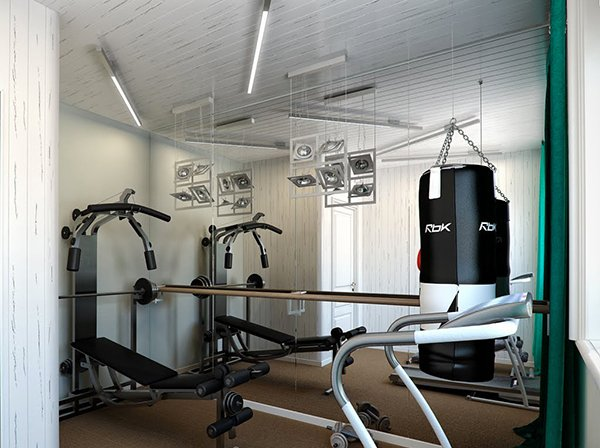 15 cool home gym ideas | home design lover