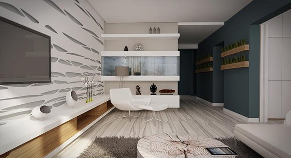 wooden gray