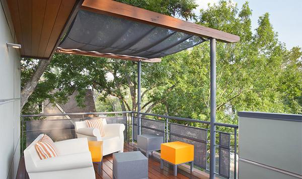 modern contemporary terrace