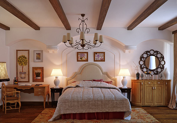 E mobilier mobila de dormitor lux si opulenta - Cuadros para dormitorios rusticos ...