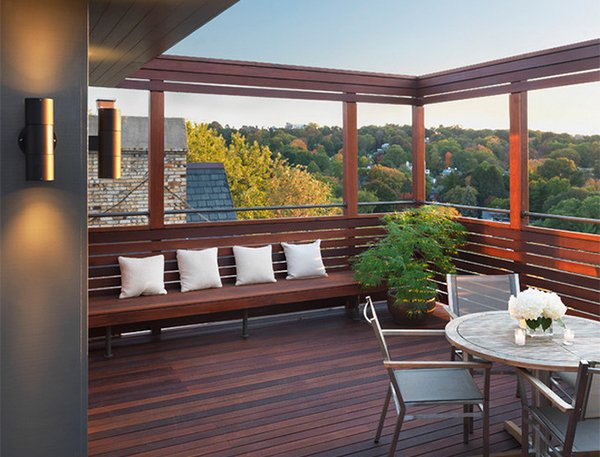 15 modern and contemporary rooftop terrace designs home for Terrace roof ideas
