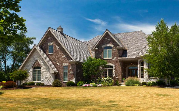 20 different exterior designs of country homes home for French country brick exterior