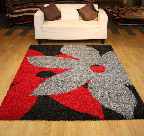 floral brg shaggy rug - Shaggy Rug