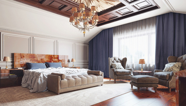 elaborate opulence in 20 luxurious bedroom designs home