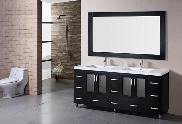 Modern Double Sink Bathroom Vanities 15 modern double sink bathroom vanity sets   home design lover