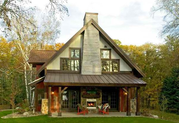 Small Country Home Designscountry Style House Designs In Cozy ...