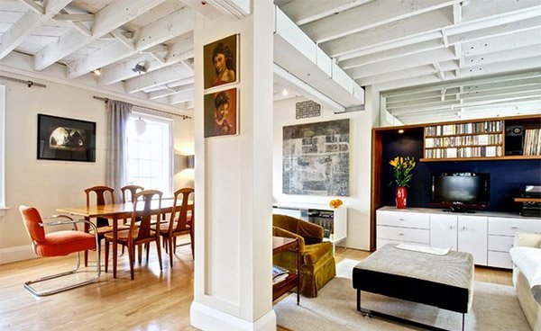 exposed beams designs