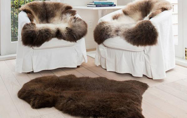 Natural New Zealand Sheepskin Rugs