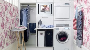 Make Washing Easy in 15 Neat Home Laundry Areas