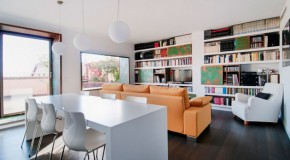 A Renovated Bright Penthouse in Valencia, Spain