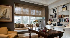 Space-saving Window Seats in 15 Traditional Interiors