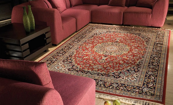 Machine Made Persian Rug 318