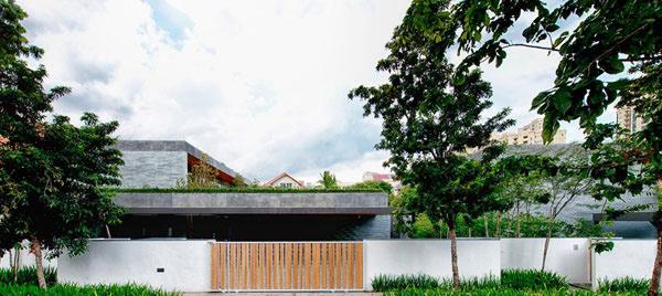 wall house - Home Design Singapore