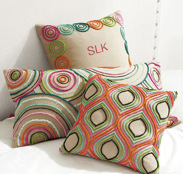 Balboa Beaded Pillow Covers